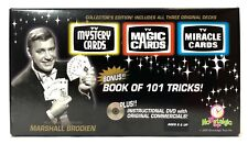 Nowstalgic Toys Tv Magic Cards 3 Deck Set, Does Magic Tricks By Itself