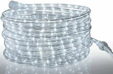Tupkee LED Rope Light COOL-WHITE, 24 Feet, 144 Long Life Bulbs, Indoor & Outdoor