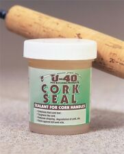 U-40 Cork Seal 2oz For Sealing The Surface Of Cork On Your Fishing Rods