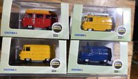 Oxford diecast 1/76 4 X  Commer Van Bundle (locsm2)