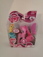 MLP Friendship Is Magic G4 MIB First Release Pinkie Pie w/ Mouse, Saddle & Comb