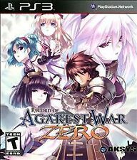 Record of Agarest War Zero (Sony PlayStation 3, 2011)