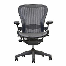 Herman Miller Aeron Chair Open Box Size B Fully Loaded   hardwood caster