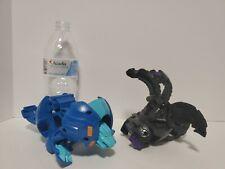 Lot of 2 DEKA Bakugan Hydorous Nillious Jumbo Large Collectible Transforming Toy