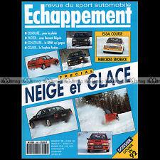 ECHAPPEMENT N°280 ALFA 155 GTA MAZDA MX-6 MERCEDES SNOBECK & 190 E 2.3-16 1992
