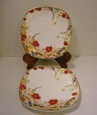 """Royal Bone China Dinnerware """"DREAMS OF PARIS"""" from Tangshan Longda 2 Plates 9"""""""
