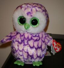 "Ty Beanie Boos - PIPPER the Owl 6"" (Claire's Exclusive) NEW MINT with MINT TAGS"