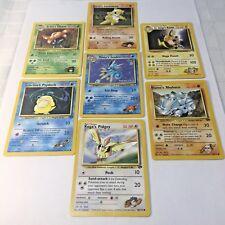 Pokémon Kanto Gym Leader's Pokemon Wizards of the Coast Card Lot