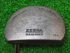"""35"""" Right Handed Ram Zebra Camber Sole Face Balanced Mallet Putter Club Glove"""