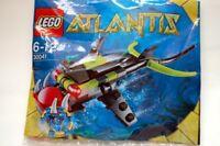 LEGO Atlantis Polybag Piranha Brand New & Sealed 30041
