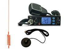 CB STARTER KIT TTI TCB-560 CB RADIO CB ANTENNA SPRINGER ORANGE + MAGNETIC BASE