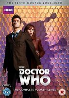 Doctor Who: The Complete Fourth Serie [DVD] Stagione 4 4° Quarto Forth Nuovo BBC