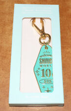 SHINEE SMTOWN GIFTSHOP GOODS Debut 10th Anniversary HOTEL KEYRING KEY RING NEW