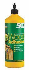 Everbuild 502 All Purpose Weatherproof Wood Adhesive 12 x 1litre