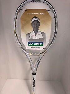 Tennis Racket Yonex Ezone 100, Grip 3, 300g, Naomi Osaka Limited Edition, White