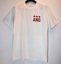 ARC Quest Love 1 World White Gold Green Air Force 1 T-Shirt Men's Size XL New