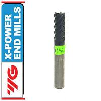 X-POWER YG-1 VHM Solid Carbide End Mill 10mm Shank Dia 10mm TiAIN 6-Flute No146