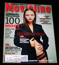 1999 Movieline CHRISTINA RICCI Tara Reid (VF+)