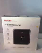 HONEYWELL T5 + SMART THERMOSTAT WITH POWER ADAPTER. WI-FI, 7 DAY SCHEDULING.