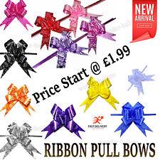 Pull Bows 30 mm Ribbon Flower Wedding Gift Wrap Birthday Hampers Decoration