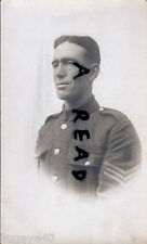 WW1 soldier Sgt William Trott ASC Army Service Corps & 275 Siege Battery RGA MSM