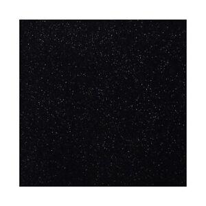 ++ 10 leinenartige Servietten | glitzer | schwarz | 40 x 40 cm ++