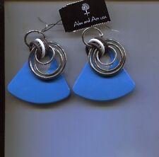 Blue Triangle Earrings Alex & Ani
