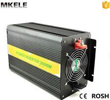 3000W DC24V To AC220V Pure Sine Wave Off Grid Electric Solar Power Inverter