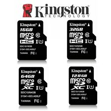 Micro SD Card 32G 64G 128G 16G Kingston Canvas Select Plus Class10 Memory 100Mbs