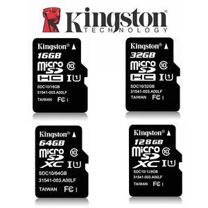 Micro SD Card 32G 64G 128G 16G Kingston Canvas Select Plus Class10 Memory 100Mbs