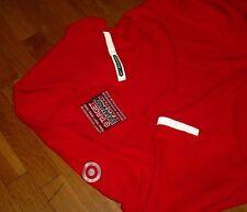 Rare! Nike Racing Indy 500 Target Ganassi Polo Crew Shirt Red Reflective Men XXL