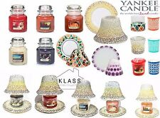 Yankee Candle Moroccan Style Medium Jars/Lamp Shades/Votive Holders And Votives