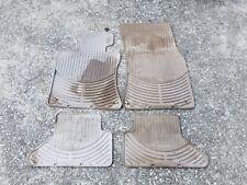 BMW E64 04-10 645ci 650ci Beige All weather Cannon automotive floor mats OEM