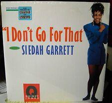 Siedah Garrett I Don't Go For That 1990 6 track Maxi Single RECORD sealed