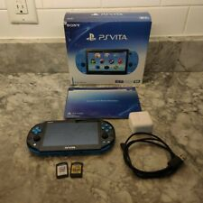 PlayStation Vita Blue (2001 Model) With 2 Games and A Charger