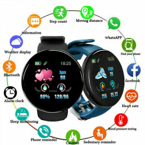 Smart Watch Gifts Bluetooth Heart Rate Blood Pressure Monitor Fitness Tracker CN