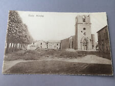 AK Frankreich Buzy Kirche  1.WK  (S34)