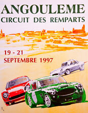 Remparts 1997 CORSA POSTER Stampa A3