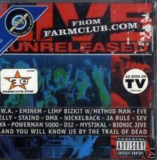 AA.VV.- LIVE&UNRELEASED from FARMCLUB.COM CD Sigillato