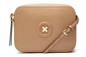MIMCO Daydream Hand Bag HONEY Hip Handbag Cross body Leather BNWT RRP$199