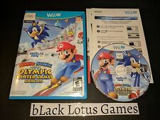 Mario & Sonic at the Sochi 2014 Olympic Winter Games Wii U Nintendo Sports