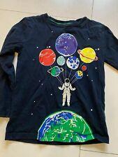 Boden Boys Sweatshirt Age 7-8 Astronaut