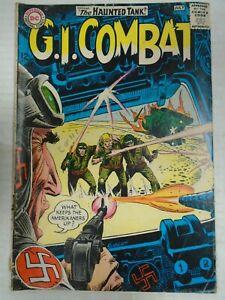 DC G.I. COMBAT #106 (1964) Haunted Tank, Kin Platt, Joe Kubert, Robert Kanigher