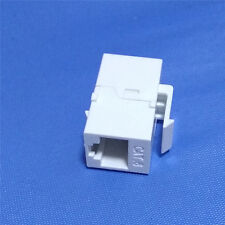 1PC RJ45 Female to Female UTP CAT6 Keystone Insert Wall Plate Adapter Jack