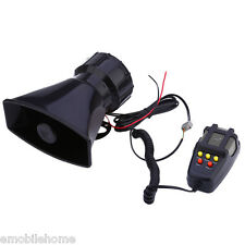 12V Loud Horn 5 Sounds Car Vehicle Motorcycle Truck Speaker System