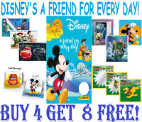 Panini Disney 'A FRIEND FOR EVERY DAY'  Single Stickers BUY 4 GET 8 FREE!