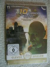 PC CD Rom Spiel Technicus: 10 Hours Left (PC, 2007, DVD-Box) Neu OVP Lernen