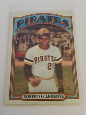 1972 Topps #309 Roberto Clemente : Pittsburgh Pirates