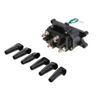 12V Solenoid Relay Contactor Winch Rocker Switch Thumb Universal For ATV UTV