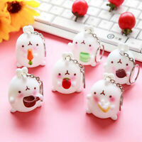 Super Cute Kawaii Pendant Cute Rabbit Keyring Keychain Car Bag Key Chain Decor